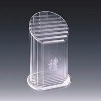 Quality Sport Prize Acrylic Award Trophy With Carve Letter 320 * 180mm for sale
