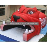 Quality Portable Inflatable Football Tunnel With Helmet,Inflatable Football Helmet Tunnel For Sale for sale