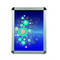 Quality Advertising Silver Snap Frame Poster HolderMitred Corner Various Size for sale
