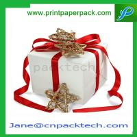 Quality Custom Printing Ribbon Set-Up Boxes Paper Gift Box Gift Boxes Rigid Cardboard Boxes for sale