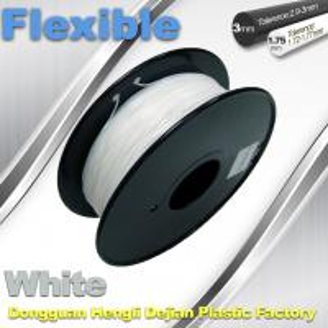 Quality 1.75 / 3.00mm Elastic Filament For 3D Printers Makerbox / Reprap for sale