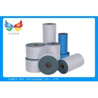 Quality Printable 45mic PVC Shrink Bottle Sleeve Labels Film 1000mm Max Width For Cosmetics for sale