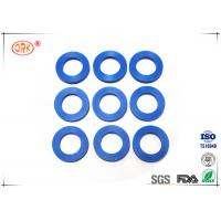 Quality 80 Shore A Flat Rubber Washer With FDA Approved Black Blue Soft Silicone for sale