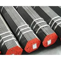 ISO BV SGS SCH40 Hot Rolled Seamless Black carbon Steel Pipe Tubing , Varnish