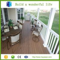 Quality 2018 faux China wpc wood decking decorative board plastic imitation wood fencing for sale