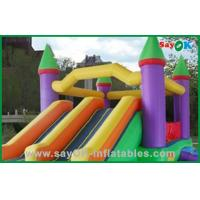 Quality Outdoor Kids Inflatable Bouncer Slide for sale