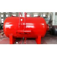 Quality Carbon Steel 10 Ton Foam Bladder Pressure Vessel Tank Horizontal Type for sale