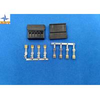 Quality brass material Gold - Plated Signal Wire To PCB crimp Connectors terminals with 1.27mm Ptich for sale