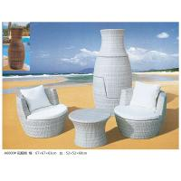 Quality 2014 new outdoor coffee shop furniture small table chair sofa set for sale