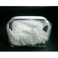 Buy Men Clear Vinyl Airline Travel Kit Bag , Travel Kit Organizer for Airport at wholesale prices