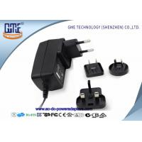 Quality 12V 1.5A Wall Mount Power Adapter For Acoustic Products , Universal EU US UK AU Plug for sale