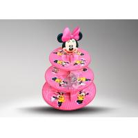 Buy Recyclable Decorative Paper Cake Stands / Cup Cake Holder 3 - layer at wholesale prices