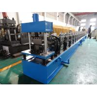 Quality High Front Quad Gutter Making Machine For Galvanized Steel / Aluminium / Copper Material for sale