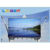 Quality Full Color Led Outdoor Display Board , Led Advertising Screen 1 - 2 Years Warranty for sale