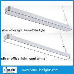 Quality 36W IP65 Hanging Linear Led Pendant Light , Led Office Light Aluminum Profile for sale