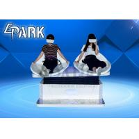 China 9D VR Slide Double Grass Ski Virtual Reality Simulator For Movie Theater on sale