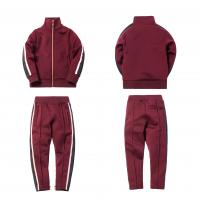 Quality Stand Up Collar Children'S Sports Tracksuits , High Street Kids Tracksuit Sets for sale