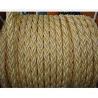 Quality supply 3/8/12/24 strand PP filament / polyester marine mooring ropes for sale