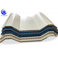 Quality Insulation Hollow Twin Wall Roofing Sheets Corrugated Anti Impact Resistance for sale