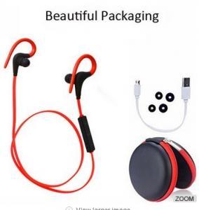 Buy cheap CSR 4.1 Sport Bluetooth Earphone Weatproof  With Mic Secure Ear Hooks 50mah from wholesalers