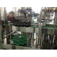 Quality Juice / Olive oil / Beer Bottling Equipment Fully Automatic for Round or Square Glass Bottle for sale