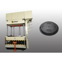 Quality Resin Manhole Cover SMC Hydraulic Press High Production Efficiency for sale
