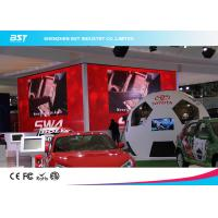 Quality Custom Aluminum  P3.91 HD Black LEDs Indoor Advertising Led Display Screen for Auto Show for sale