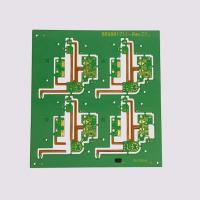 Quality Prepreg PCB Prototype 2 Layers Lead Free Surface HASL Green Solder Resist Color for sale