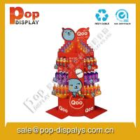 Quality Portable Red Pop Necklace Display Stands With Oil printing for sale
