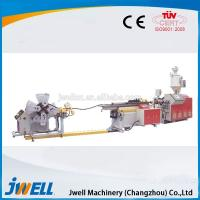 China Jwell Steel reinforced spiral pipe extrusion line on sale