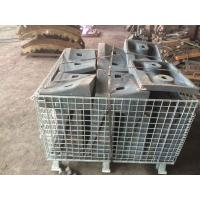 Quality High Cr White Iron Castings 2nd Compartment Shell Liners HRC48 - 54 Cement Mill for sale