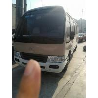 Buy cheap 1HZ Diesel Engine LHD Used Coaster Bus 2x4 Drive 29 Seats Equipped A/C from wholesalers