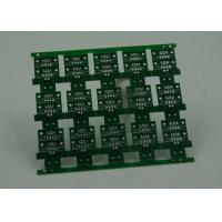 Quality RoHS HASL 4 Layer Rigid PCB Board Fabrication Finish Green Solder Mask for sale