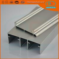 Buy cheap Aluminum sliding track profile for window and doors, sling window profile from wholesalers