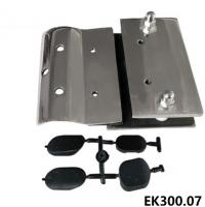 Buy cheap Semi Frameless Glass Gate Latch-EK300.07 from wholesalers