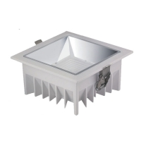 Quality 20W 1800lm Anti Glare Square Recessed Ceiling Lights for sale