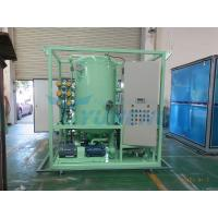 High Efficiency CE Double Stage Transformer Oil Filtration Machine for sale