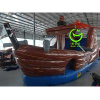 Quality Pirate ship inflatable slide with 24months warranty GT-SAR-1634 for sale
