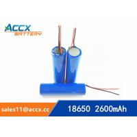 Quality 18650 3.7V 2000mAh rechargeable li-ion battery manufacturer for sale