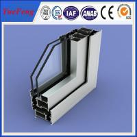 Quality All kinds of surface treatment aluminum profile for windows and doors for sale