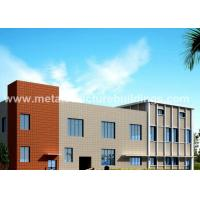 China ASTM Material Welded Pre Fab Metal Building PVC / Aluminum Alloy Window on sale