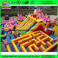 Buy cheap Funny inflatable Circus amusement park,Giant inflatable clown fun city from wholesalers