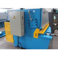Quality NC Hydraulic Swing Beam Shearing Machine With 32mm Sheet Metal Cutting MS7-32X2500 for sale