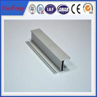 Quality Hot! aluminium extrusion profile 6063 supplier make door, 6063 aluminium profile door for sale