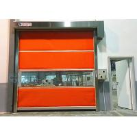 China 1.2mm High Speed Industrial Roll Up Doors Warehouse Insulated Roll Up Door on sale