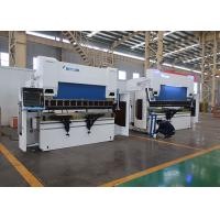 Buy cheap 110 Ton X 10' CNC 6-Axis Hydraulic Press Brake with DELEM DA66T CNC Controller from wholesalers