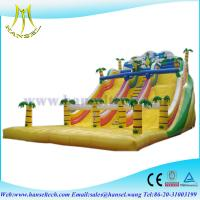 Quality Hansel inflatable water park games,inflatable pool slides,kids trampoline/jumping bed for sale
