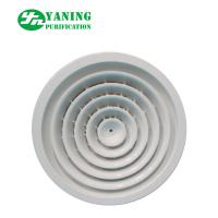 HVHC System Clean Room Ventilation , Aluminum Round Air Vents Grille for sale