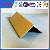 Buy High Quality decorative aluminum extruded angle profile 6063 t5 made in china at wholesale prices