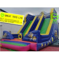 Quality Best selling inflatable minion slide with 24months warranty GT-SAR-1642 for sale
